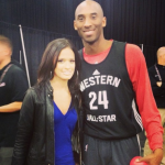Kobe Bryant, Queen Latifah, Rocsi Diaz, Cassie, Chris Brown et d'autres aux festivités du All Star Game