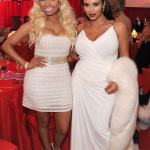 Nicki Minaj et Kim Kardashian étincellent la soirée d'Elton John