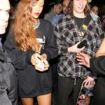 Rihanna était au Supper club de Los Angeles avec Chris Brown