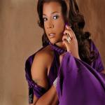 Syleena Johnson fait la promotion de son prochain DVD d'entraînement sportif