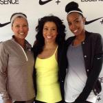 Kelly Rowland s'entraîne avec son coach Jeanette Jenkins