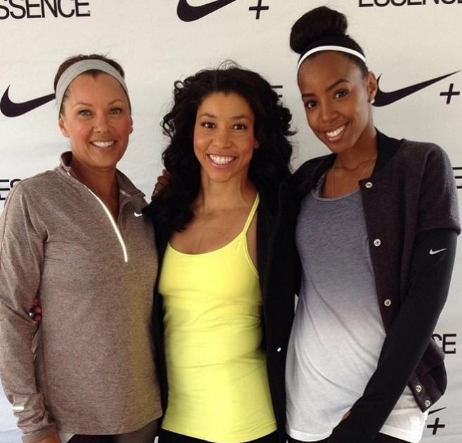 Vanessa Williams Images Et Photos: Kelly Rowland S'entraîne Avec Son Coach Jeanette Jenkins
