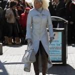 """Mary J. Blige sur le plateau de tournage de """"Black Nativity"""""""