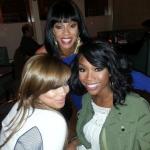 """Brandy, Lauren London et Wendy Raquel célébraient le centième épisode de """"The Game"""""""