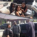 """Cassie, Diddy, Karrueche Tran et Wiz Khalifa tournent le clip """"Paradise"""""""