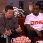 """Diddy fait la promotion de son eau chez """"Ellen"""""""