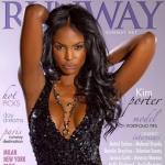 Kim Porter pose pour Runway Magazine