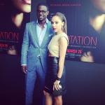 "Kim Kardashian, Lance Gross, Jurnee Smollett-Bell à l'avant-première de ""Temptation"" de Tyler Perry à Atlanta"