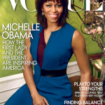 """Michelle Obama fait la couverture de """"Vogue Magazine"""""""