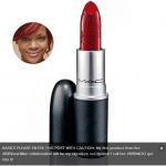 Rihanna lance son premier rouge à lèvre MAC Rouge