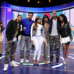 Brandy, Lauren London, Wendy Raquel de « The Game » invités de « 106 & Park »