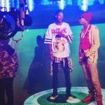 """Tyga et Wiz Khalifa tourne le clip vidéo """"Molly"""""""