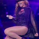 "Beyonce illumine Londres lors de sa tournee ""Mrs. Carter Show"""