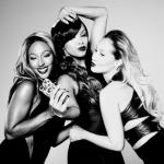"Alexandra Burke, LeToya Luckett et Adrienne Bailon font la pub pour ""AJ Crimson Cosmetics"""