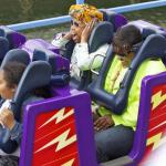 Brandy était à Disney Land avec sa fille Sy' rai Iman Smith