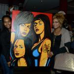 """T-Boz, Chilli, Lil Mama et d'autres célébraient la fin du tournage de """"The TLC Story"""""""