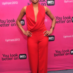 Gabrielle Union, Boris Kodjoe & Nicole, Nelly, Miguel & More At The 2013 BET UPFRONTS