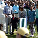 La Maison Blanche célèbre Pâques avec 30000 américains