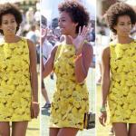 Solange Knowles au festival Coachella