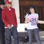 T.I et Tiny étaient devant la presse à Los Angeles