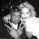 """Jay-Z et Rita Ora assistenr à """"Mrs. Carter Show"""" à Londres"""