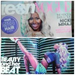"Nicki Minaj à la une de ""Teen Vogue"""