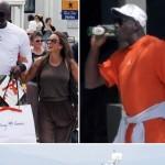 Michael Jordan et sa femme Yvette passent leur lune de miel en Grèce
