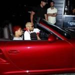 Chris Brown s'amuse au Greystone Manor