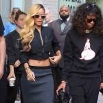 Rihanna bloque la circulation à Manhattan