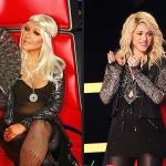 """Christina Aguilera retrouve son siège et Shakira s'en va de """"The Voice"""""""