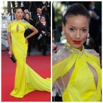 """Selita Ebanks était à la présentation de """"BLOOD TIES"""" au Festival de Cannes"""
