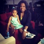 La fille de Christina Milian rencontre Oprah Winfrey