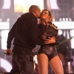 """Beyonce et Jay-Z sur scène lors du concert """"Chime For Change"""""""