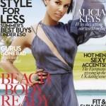 """Alicia Keys fait la une de """"Marie Claire"""""""