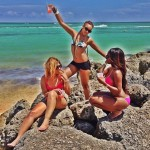 Trina savoure son séjour aux Bahamas