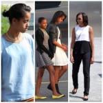 Michelle, Sasha et Malia Obama passent des vacances en Allemagne