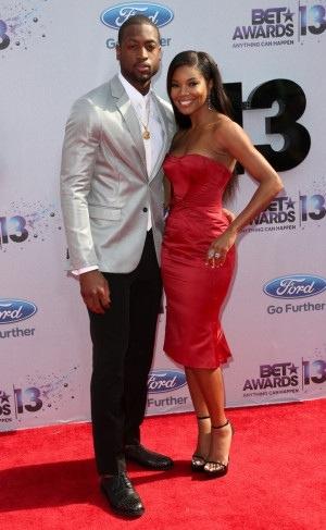 Dwayne Wade et Gabrielle Union - BET Awards 2013