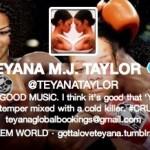 Reebok a décidé de mettre fin au contrat de Teyana Taylor