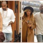Kim Kardashian et Kanye West débarquent dans la capitale de la mode