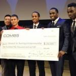Diddy fait un don à un groupe de jeunes entrepreneurs