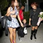 Christina Milian célèbre l'anniversaire de sa mère avec ses proches