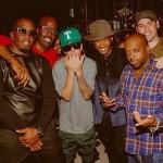 Usher célèbre ses 35 ans avec une brochette d'amis