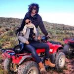 Rihanna explore Cape Town en quad avec Melissa Forde