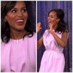 Kerry Washington était l'invité de Jimmy Kimmel Live