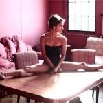 La ballerine black à la une de Vogue Italia