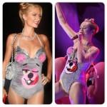 Paris Hilton et Miley Cyrus déguisée de la même façon