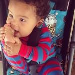 Amber Rose dévoile une nouvelle photo de son bébé