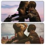 Kim Kardashian toute nue dans le clip de Kanye West