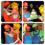 John se déguise en Super Mario pour l'anniversaire de Chrissy Teigen