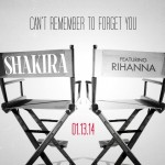 Shakira confirme sa collaboration Can't Remember To Forget You avec Rihanna